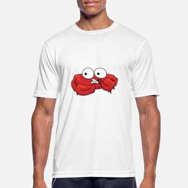 Anxious Anxious crab - Men's Breathable T-Shirt