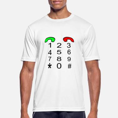 Make Phone Calls phone make phone calls - Men's Sport T-Shirt