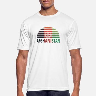 Sunburst Sunset Sunburst home home roots AFGHANISTAN home - Men's Sport T-Shirt