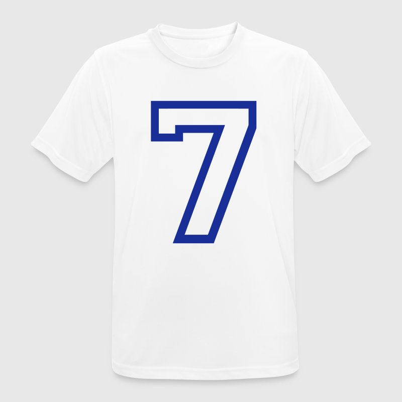 THE number seven, 7 years - Camiseta hombre transpirable