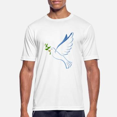 Dove Of Peace dove, peace dove, peace - Men's Sport T-Shirt