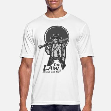 Outlaw Outlaw cowboy - Men's Sport T-Shirt