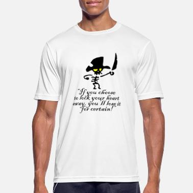 pirate bones love quote - Men's Sport T-Shirt