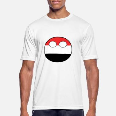 Countryballs Countryball Country Home Yemen - Men's Breathable T-Shirt