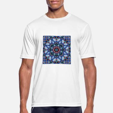 Trendy SUPERB FRACTAL PATTERN KALEIDOSCOPE 4 - Men's Sport T-Shirt