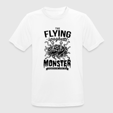 Vliegende Spaghetti Monster The Flying Spaghetti Monster - mannen T-shirt ademend