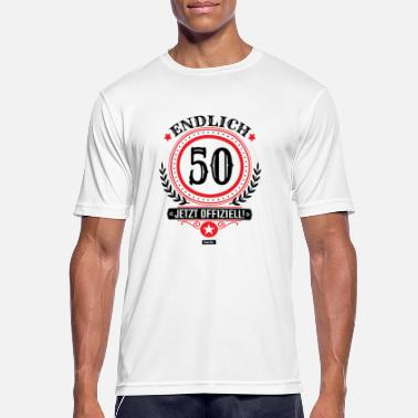 Article 50 Finally 50 Now Officially 50 Birthday HARIZ Ges - Men's Sport T-Shirt