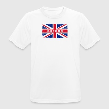 Oxfordshire Oxford Shirt Vintage United Kingdom Flag T-Shirt - Men's Breathable T-Shirt