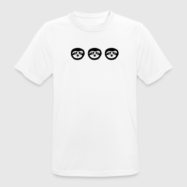 Buja logo - three faulty - Men's Breathable T-Shirt