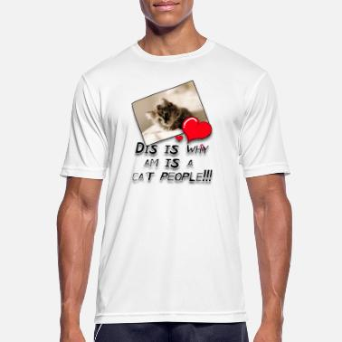 Mesjogge CatPeople - mannen T-shirt ademend