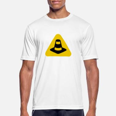 Konstruktion Under konstruktion Pylon - Herre T-shirt svedtransporterende