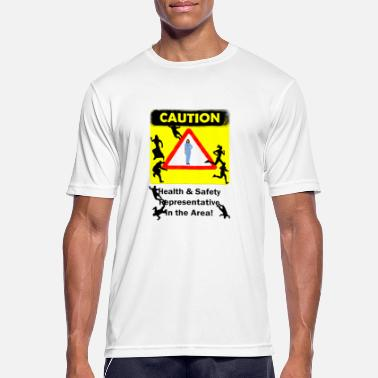 Health And Safety Avoid Health Safety - Men's Breathable T-Shirt