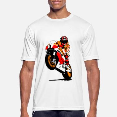 Motorcycle Racing Motorcycle racing - racing motorcycle - Men's Sport T-Shirt