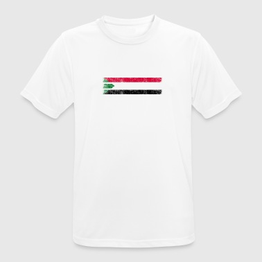 Sudan Sudanese American Flag - United States Sudan Shirt - Men's Breathable T-Shirt
