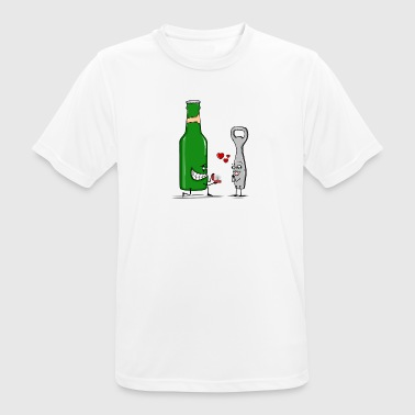 Beer Romance - Men's Breathable T-Shirt