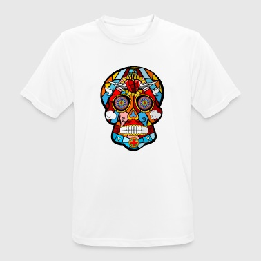 Mexicaans Schedel Mexicaanse schedel - mannen T-shirt ademend