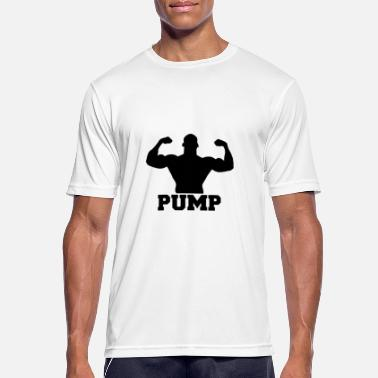 Weights Pump Pump up the weights - Men's Breathable T-Shirt