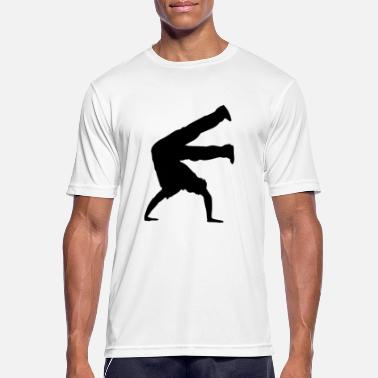 B Boying Breakdancing Breaking B-Boying B-Girling Hip-Hop - mannen T-shirt ademend