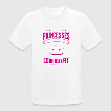 Real Cook REAL PRINCESSES cook - Men's Breathable T-Shirt