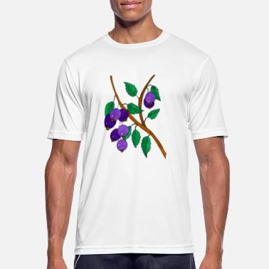 Plum plums - Men's Breathable T-Shirt