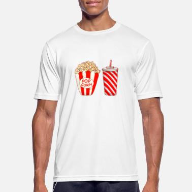 Popcorn Popcorn drink - Men's Breathable T-Shirt