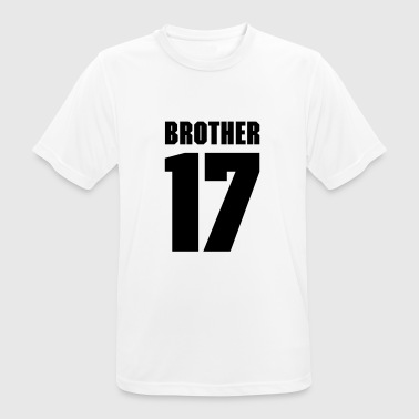 Brother 17 T-Shirts - Men's Breathable T-Shirt