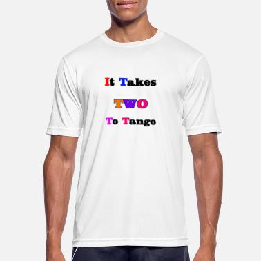Take Two It takes two to tango one - Men's Breathable T-Shirt