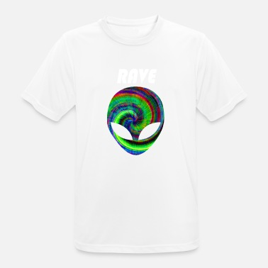 Raven rave rave rave - mannen T-shirt ademend