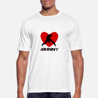Johnny Johnny - Camiseta hombre transpirable