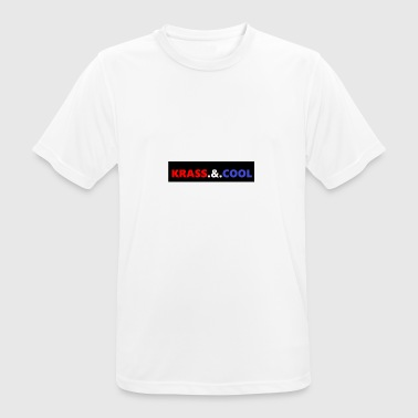 Krass Krass. &. Cool - Men's Breathable T-Shirt