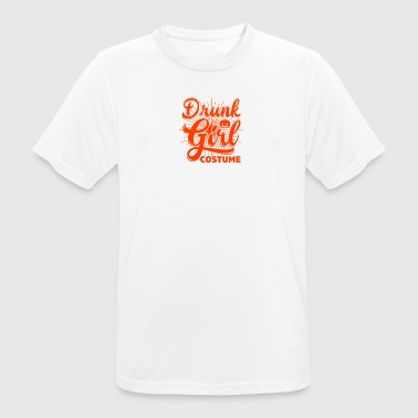 Drunk Girls Drunk Girl Costume - Men's Breathable T-Shirt