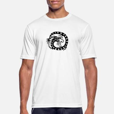 Bewinged Chinese dragon - Men's Breathable T-Shirt