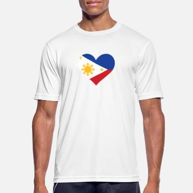 Jeepney A Heart For The Philippines - Men's Breathable T-Shirt