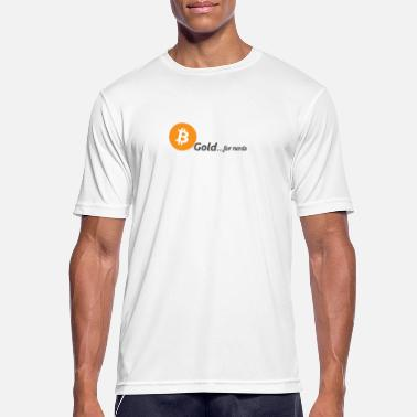 Bitcoin, gold for nerds. - Men's Breathable T-Shirt