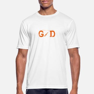 God Soldier I AM GOD SOLDIER - Men's Breathable T-Shirt