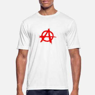 Symbol Rebel Chaos anarchy, anarchy - Men's Breathable T-Shirt