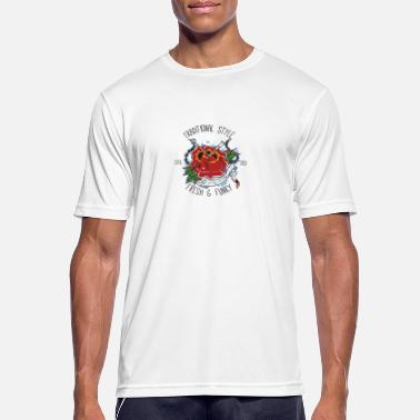 Traditional Traditional Tattoo Rose - Men's Sport T-Shirt