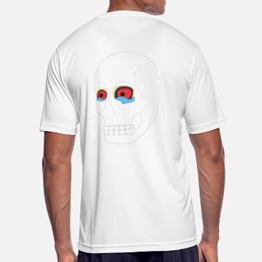 Funky Skull Funky color skull - Men's Breathable T-Shirt