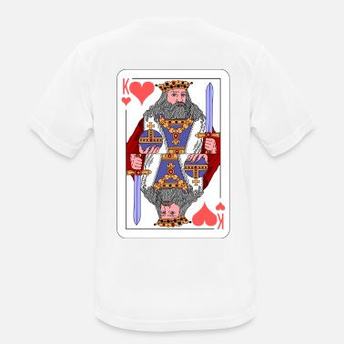 Playing Card King Playing Card Gift Idea - Men's Breathable T-Shirt