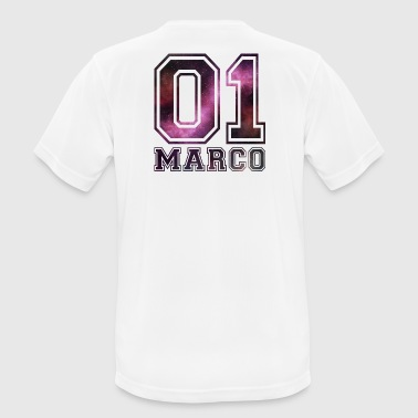 Marco Marco Name - Men's Breathable T-Shirt
