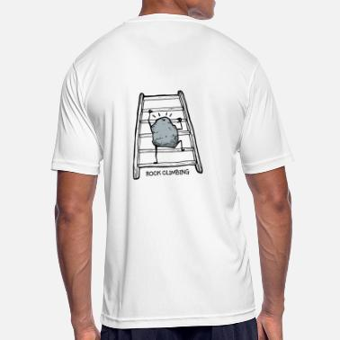 Rock Climbing rock climbing - humor - Men's Sport T-Shirt