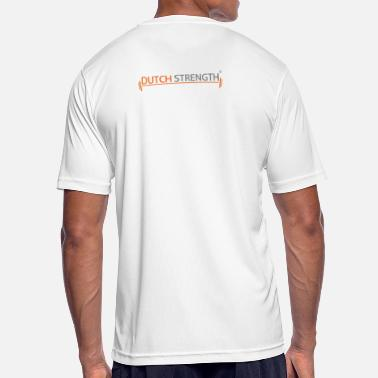 Dutch Strength Bar - Mannen sport T-shirt