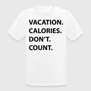 Vacation calories - Men's Breathable T-Shirt