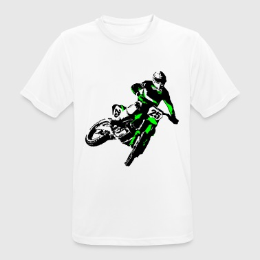 MotoCross - Men's Breathable T-Shirt