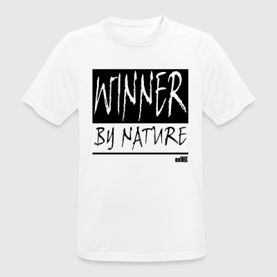 WINNER BY NATURE - Männer T-Shirt atmungsaktiv