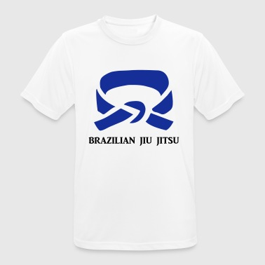 BJJ Blue Belt Clothing - Andningsaktiv T-shirt herr