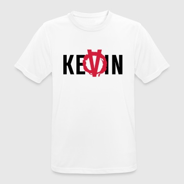 The V stands for KeVin - Men's Breathable T-Shirt