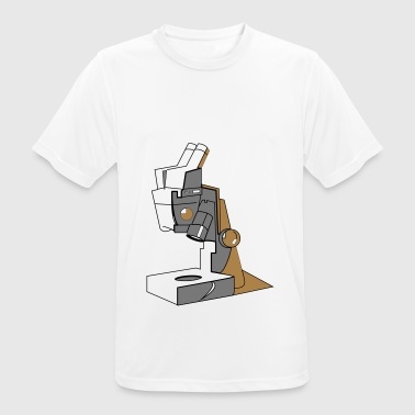 Microscope Technique Device Gift Enlarge the idea - Men's Breathable T-Shirt