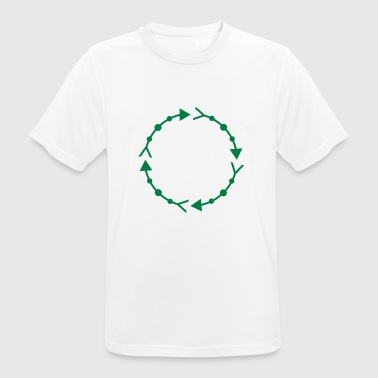 Circle frame - Men's Breathable T-Shirt
