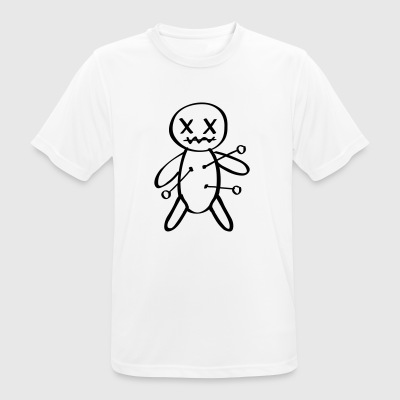 Doll Voodoo needle pain - Men's Breathable T-Shirt